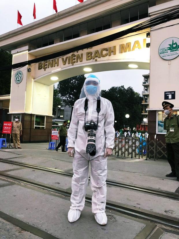 Câu chuyện về các phóng viên lăn xả vào điểm nóng để có được những hình ảnh, tin bài chân thực nhất về tình hình dịch Covid-19 tại Việt Nam - Ảnh 12.