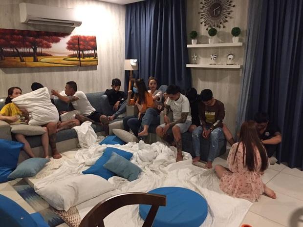 Tụ tập trong căn hộ chung cư ở Sài Gòn để tổ chức tiệc bóng cười, 6 người dương tính với ma túy - Ảnh 1.