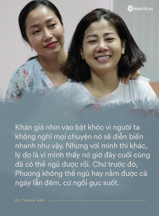 """Ốc Thanh Vân nghẹn ngào tại tang lễ nghệ sĩ Mai Phương: """"Mới hôm trước còn phải ngồi gục suốt, giờ em ấy đã được ngủ rồi"""" - Ảnh 3."""