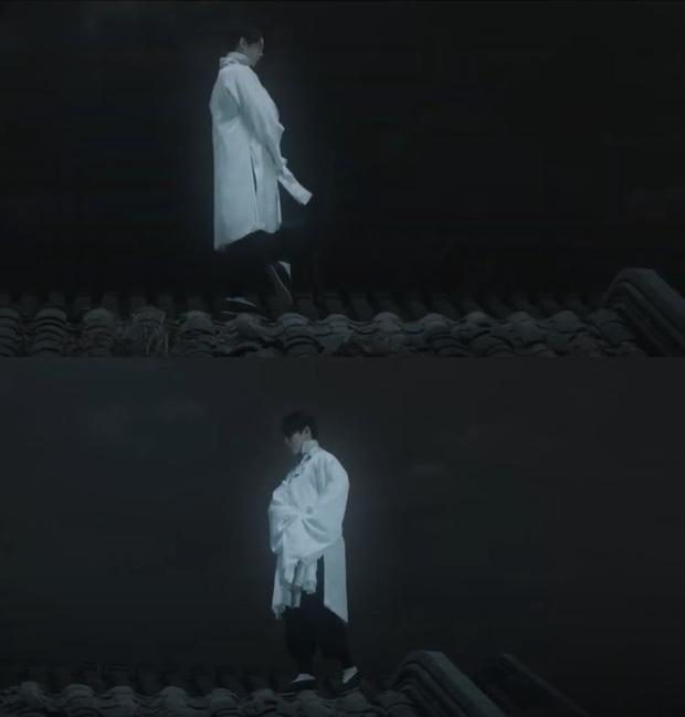 Bạn trai Huỳnh Hiểu Minh trèo cả lên mái nhà khoe thần thái diva ở Bên Tóc Mai Không Phải Hải Đường Hồng - Ảnh 4.