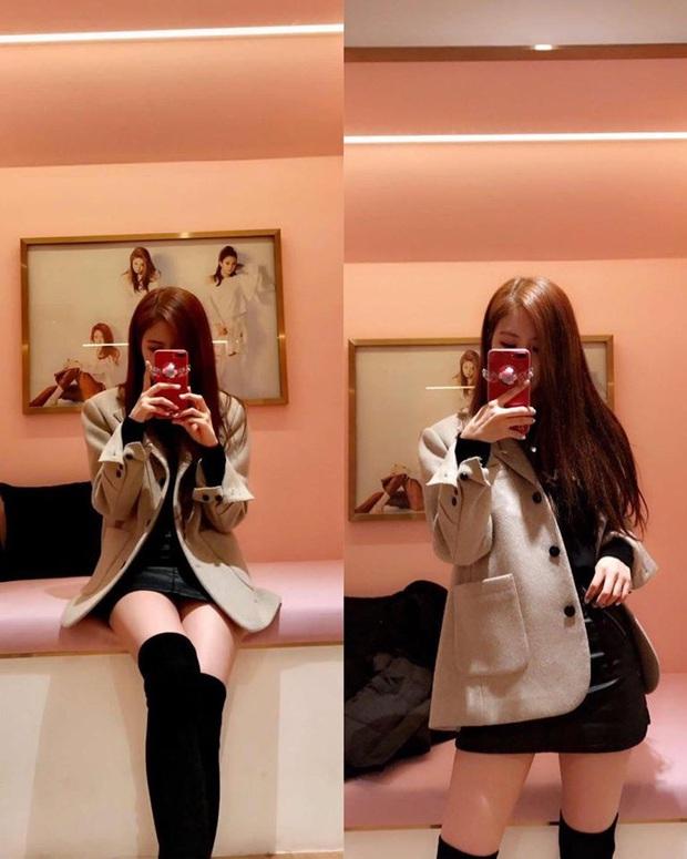 Học lỏm cả tá bí kíp selfie thượng thừa từ cô nàng Rosé (Black Pink), chỉ chụp ảnh trước gương mà vẫn đẹp rụng rời - Ảnh 6.