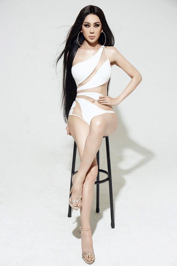 Bộ ảnh mới gây sốt của Lâm Khánh Chi: Hiếm lắm mới diện bikini, body tuổi 42 gây bất ngờ vì quá hot - Ảnh 7.