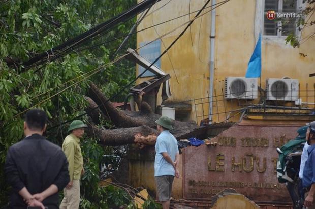 Hà Nội: Nhiều tuyến phố ngập nghiêm trọng, cây xanh bật gốc đổ ngang đường sau cơn mưa như trút nước - Ảnh 14.