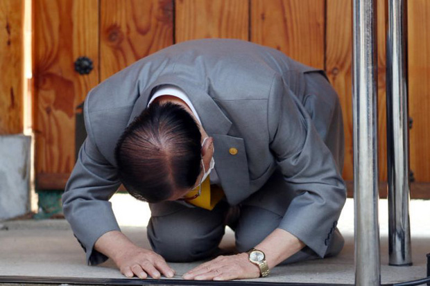 Giáo chủ Tân Thiên Địa Lee Man Hee từ chối xét nghiệm Covid-19 công khai, nói không biết âm tính với virus nghĩa là gì - Ảnh 2.
