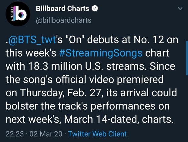 """BTS lần đầu tiên lọt top 5 Billboard Hot 100, lập kỉ lục mới cho nghệ sĩ châu Á nhưng fan lại """"la ó"""" vì nghi tính sai kết quả? - Ảnh 4."""