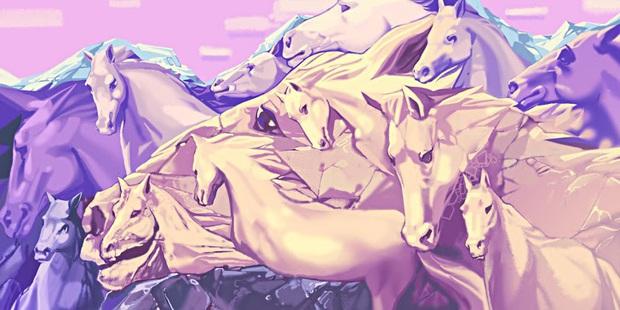 Trắc nghiệm tâm lý: Bạn có thể nhìn thấy bao nhiêu con ngựa và câu trả lời có thể tiết lộ rất nhiều điều về bạn - Ảnh 1.