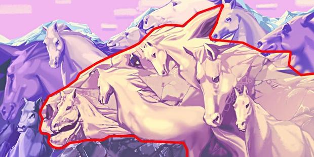 Trắc nghiệm tâm lý: Bạn có thể nhìn thấy bao nhiêu con ngựa và câu trả lời có thể tiết lộ rất nhiều điều về bạn - Ảnh 2.