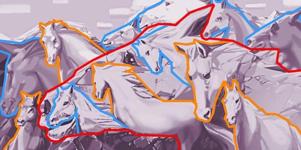 Trắc nghiệm tâm lý: Bạn có thể nhìn thấy bao nhiêu con ngựa và câu trả lời có thể tiết lộ rất nhiều điều về bạn - Ảnh 4.