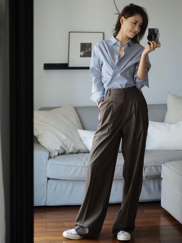 Biết 6 cách biến tấu với 1 chiếc áo sơ mi thì đảm bảo style công sở của bạn sẽ không còn cứng nhắc chút nào - Ảnh 2.