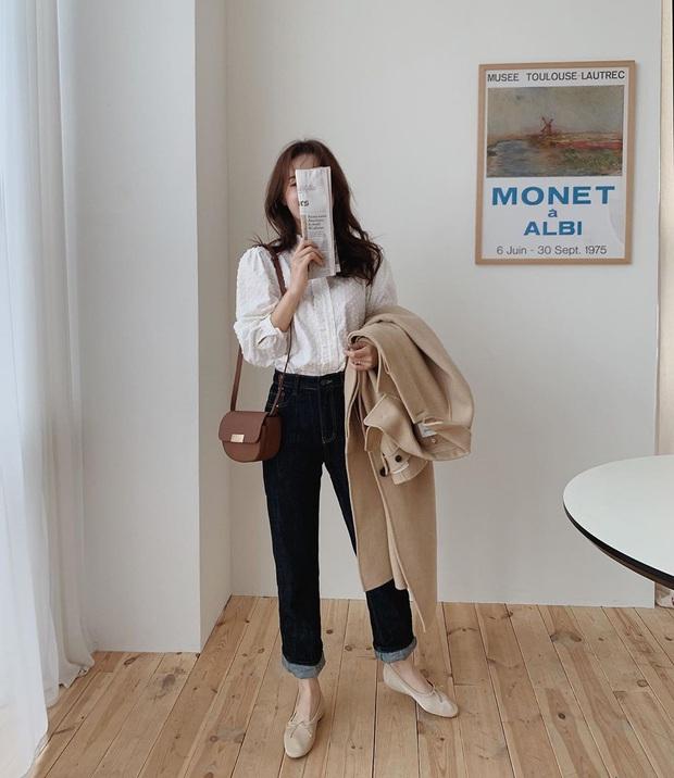 Xin giới thiệu đến chị em kiểu giày búp bê hot nhất lúc này, diện với quần jeans hay váy vóc cũng đều đẹp mê - Ảnh 4.