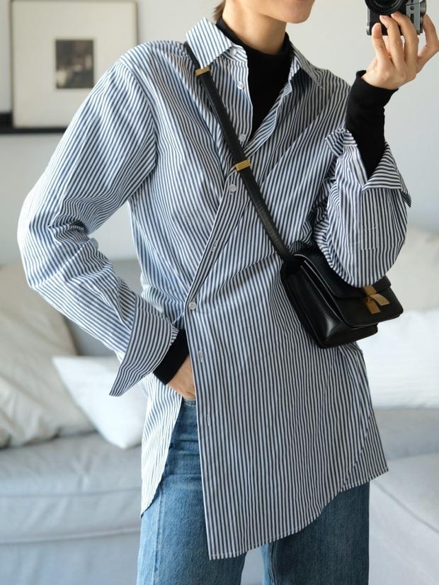Biết 6 cách biến tấu với 1 chiếc áo sơ mi thì đảm bảo style công sở của bạn sẽ không còn cứng nhắc chút nào - Ảnh 6.