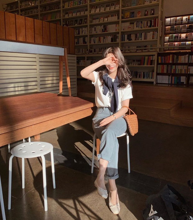 Xin giới thiệu đến chị em kiểu giày búp bê hot nhất lúc này, diện với quần jeans hay váy vóc cũng đều đẹp mê - Ảnh 8.