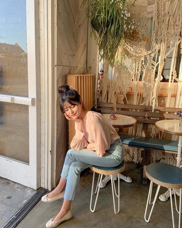 Xin giới thiệu đến chị em kiểu giày búp bê hot nhất lúc này, diện với quần jeans hay váy vóc cũng đều đẹp mê - Ảnh 10.