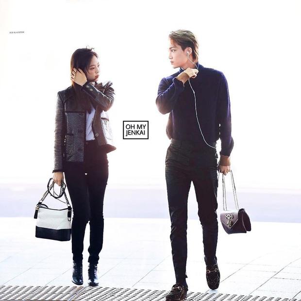 Cặp đôi thời trang phí của giời nhất đích thị là Jennie - Kai: Gái Chanel, trai Gucci chưa kịp làm bộ ảnh chung đã vội chia tay - Ảnh 9.