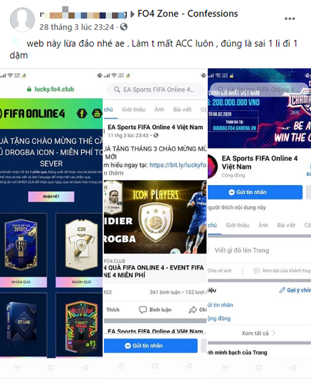 Cảnh báo tình trạng lừa đảo trên FIFA Online 4 khiến nhiều game thủ mất trắng tài khoản! - Ảnh 3.