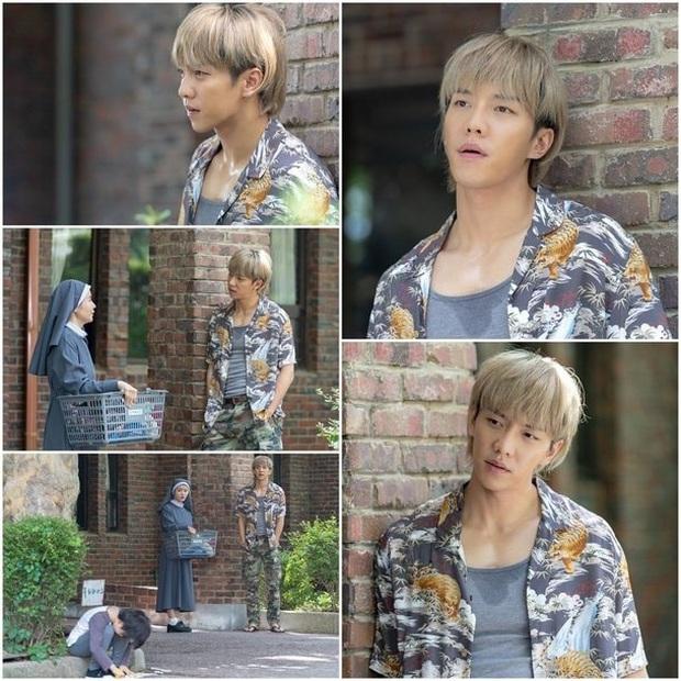 Khi tài tử cực phẩm phải bó tay vì tóc khó đỡ: Song Joong Ki - Hyun Bin hóa thím, ngã ngửa khi kéo đến Park Seo Joon - Ảnh 3.