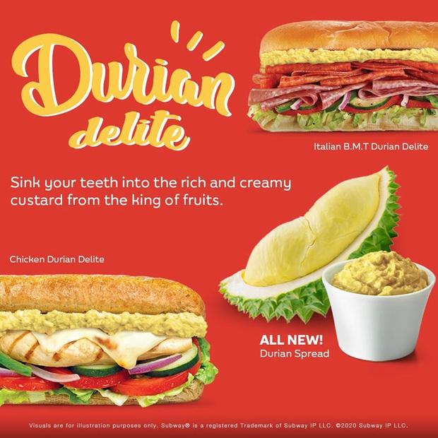 """Cho ra mắt món sandwich kẹp… sầu riêng, một cửa hàng thức ăn nhanh ở Singapore khiến dân mạng sợ hãi: Tính cho ăn """"Cá Tháng Tư"""" sớm hả? - Ảnh 2."""