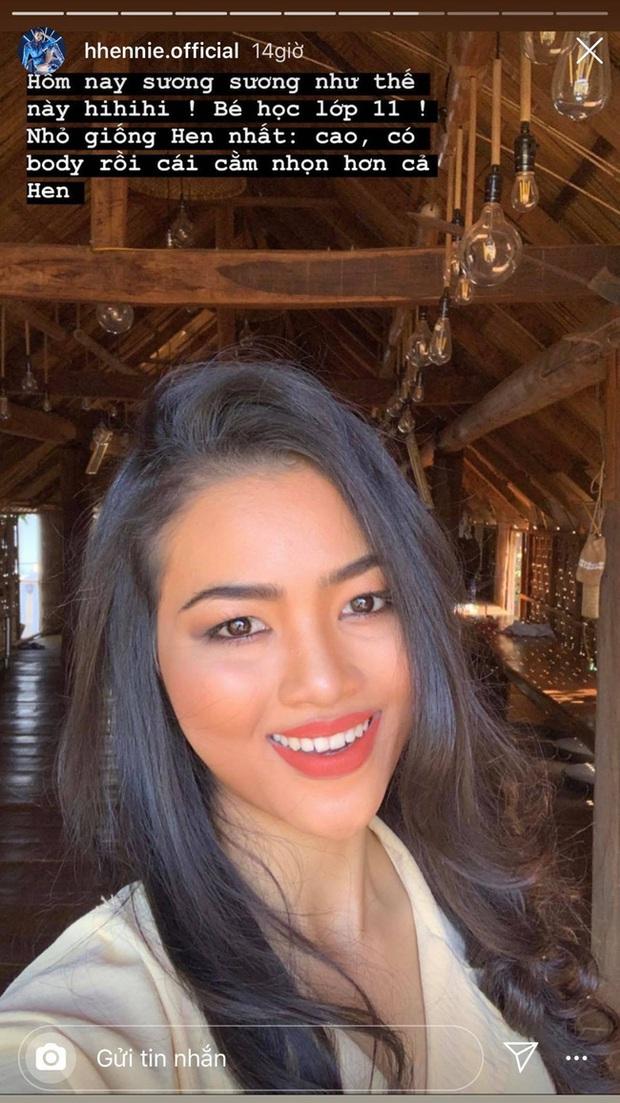 HHen Niê tiếp tục chứng minh gia đình có gen Hoa hậu: Cháu gái lớp 11 đã có nét sắc sảo, bất ngờ nhất là khi make up - Ảnh 2.