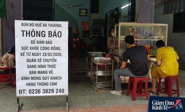 Đà Nẵng tạm dừng tất cả hoạt động phục vụ ăn uống tại chỗ từ 15 giờ ngày 29/3 - Ảnh 2.