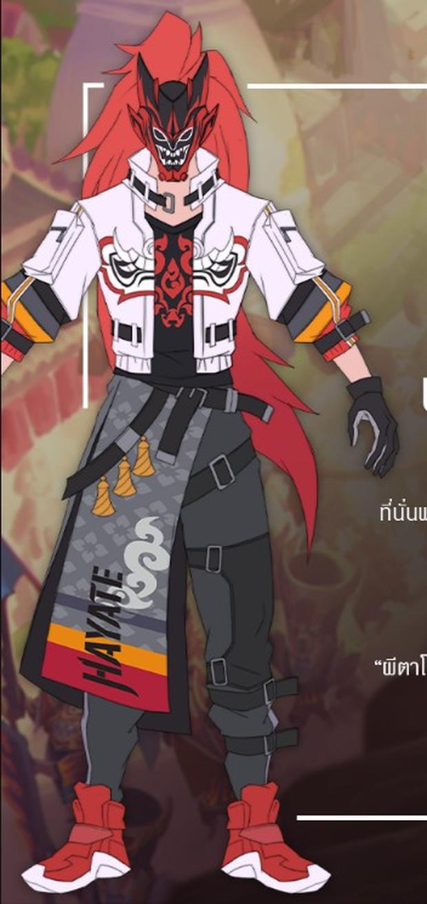 Liên Quân Mobile: Garena trình làng The Phantom Mask Hayate - skin mang bản sắc Thái Lan mới - Ảnh 4.