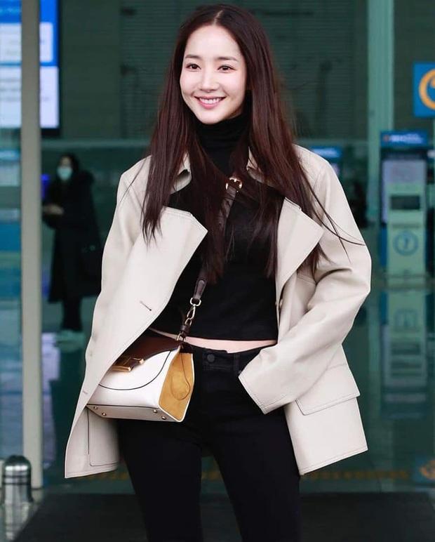 Lên đồ đỉnh cao phải như Park Min Young: Diện toàn đồ kín mà vẫn khéo khoe body chuẩn từng milimet mới tài - Ảnh 6.