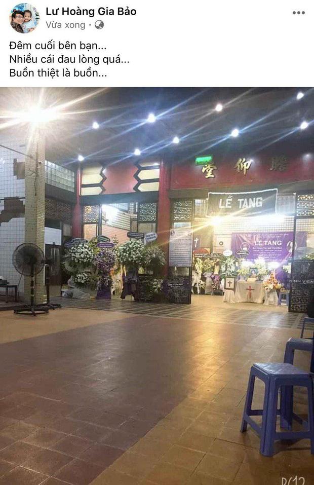 NS Trịnh Kim Chi, Gia Bảo cùng nhiều đồng nghiệp không nén được đau thương trong đêm trước khi tiễn biệt Mai Phương về nơi an nghỉ cuối cùng - Ảnh 3.