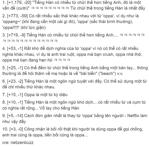 Dịch giả Parasite đau đầu vì từ oppa, fan Việt cà khịa sương sương: Mời anh sang học tiếng nước em! - Ảnh 3.