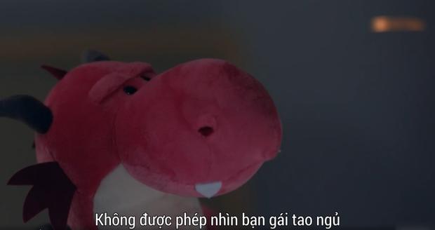 Yêu vào bỗng hóa u mê, Trương Tân Thành (Lê Hấp Đường Phèn) nổi cơn ghen với cả gấu bông của Ngô Thiến - Ảnh 3.