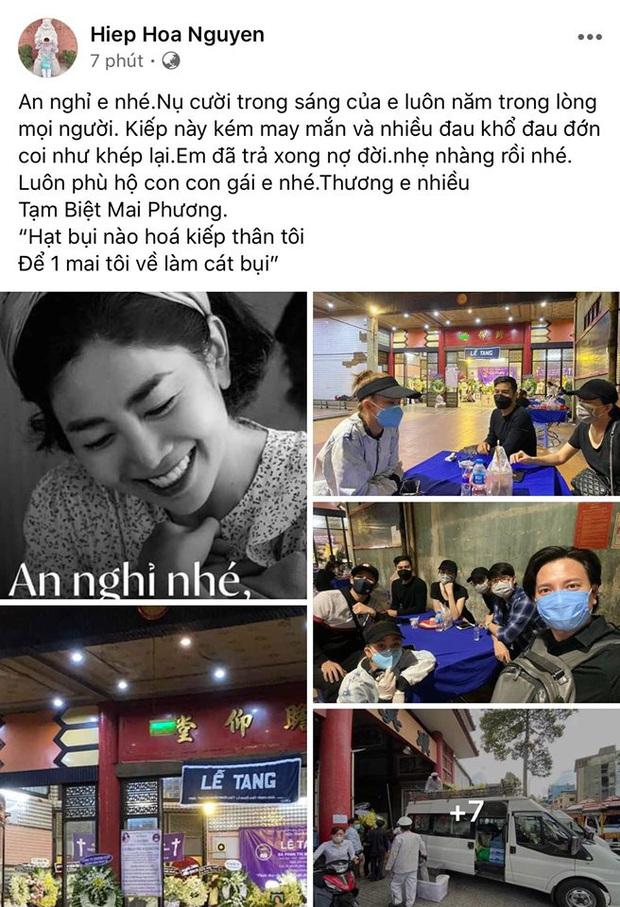 Bạn bè đồng loạt chia sẻ khoảnh khắc vĩnh biệt cố nghệ sĩ Mai Phương: An nghỉ nhé, một chiến binh dũng cảm! - Ảnh 7.