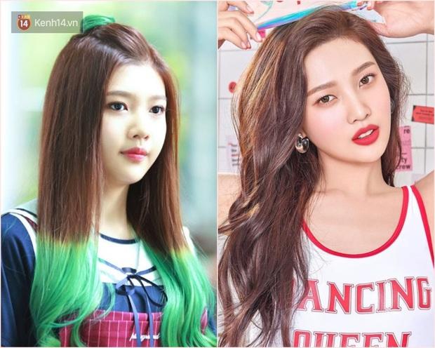 5 mỹ nhân Kpop thế hệ mới thay đổi chóng mặt nhất: Idol xấu nhất lịch sử lột xác, người đen nhẻm lên hạng nữ thần - Ảnh 7.