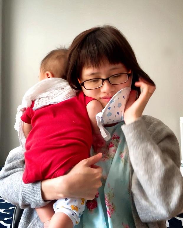 Mẹ bỉm sữa Việt ở Mỹ may khẩu trang từ quần em bé gây sốt và cuộc sống tự cách ly tại vùng dịch Covid-19 lớn nhất thế giới - Ảnh 3.