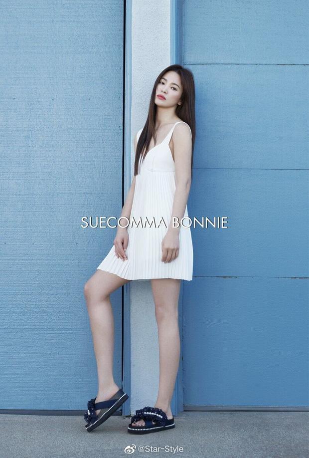 Quý cô độc thân hot nhất Kbiz gọi tên Song Hye Kyo: Diện váy ngắn khoe body nuột nà đến gái đôi mươi cũng phải ghen tị - Ảnh 1.