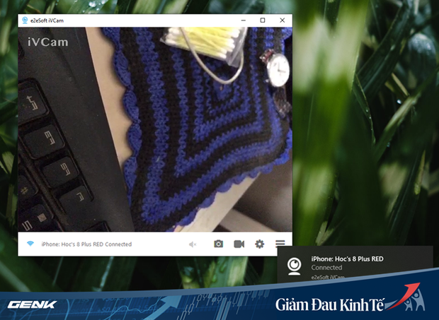 Họp trực tuyến nhưng máy tính không có webcam? Hãy tận dụng ngay chiếc smartphone của bạn - Ảnh 6.