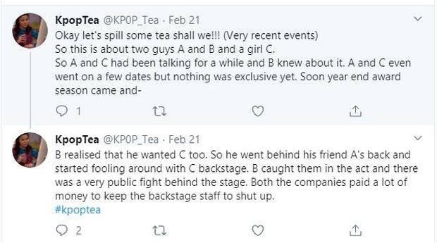 Mật báo Kbiz: 2 mỹ nam BTS hẹn hò bí mật, Lee Kwang Soo sắp cưới, cặp đôi SM lừa dối nhau và vụ đánh ghen ầm ĩ - Ảnh 32.