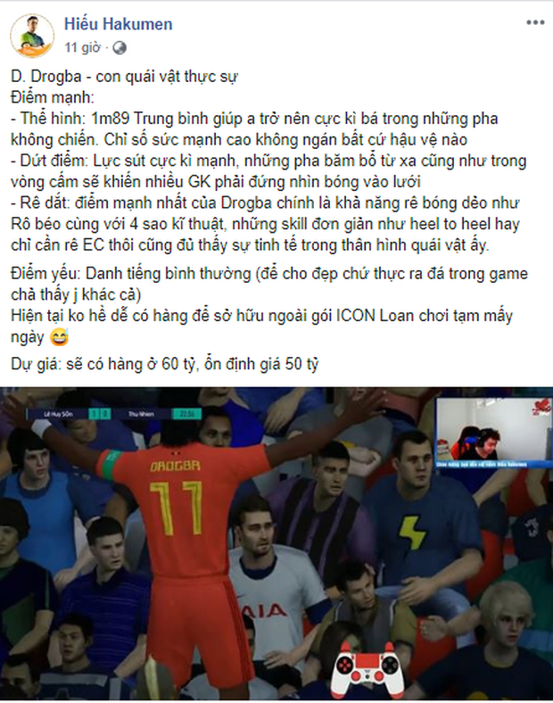 FIFA Online 4: Garena Việt Nam âm thầm cập nhật voi rừng Drogba khiến cả làng FO4 nhốn nháo! - Ảnh 3.