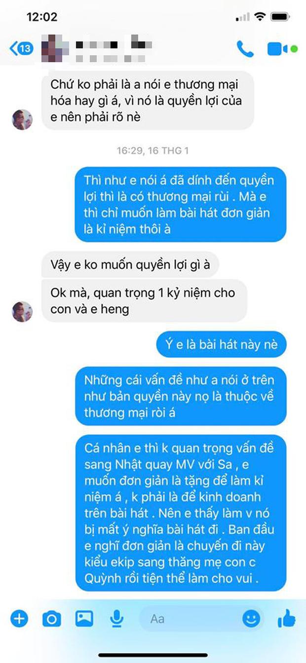 LyLy đáp trả ekip Quỳnh Trần JP việc bị tố vô trách nhiệm, cho rằng MV Chẳng thể rời Sa đã bị thương mại hoá và nghi ngờ có người tác động - Ảnh 4.