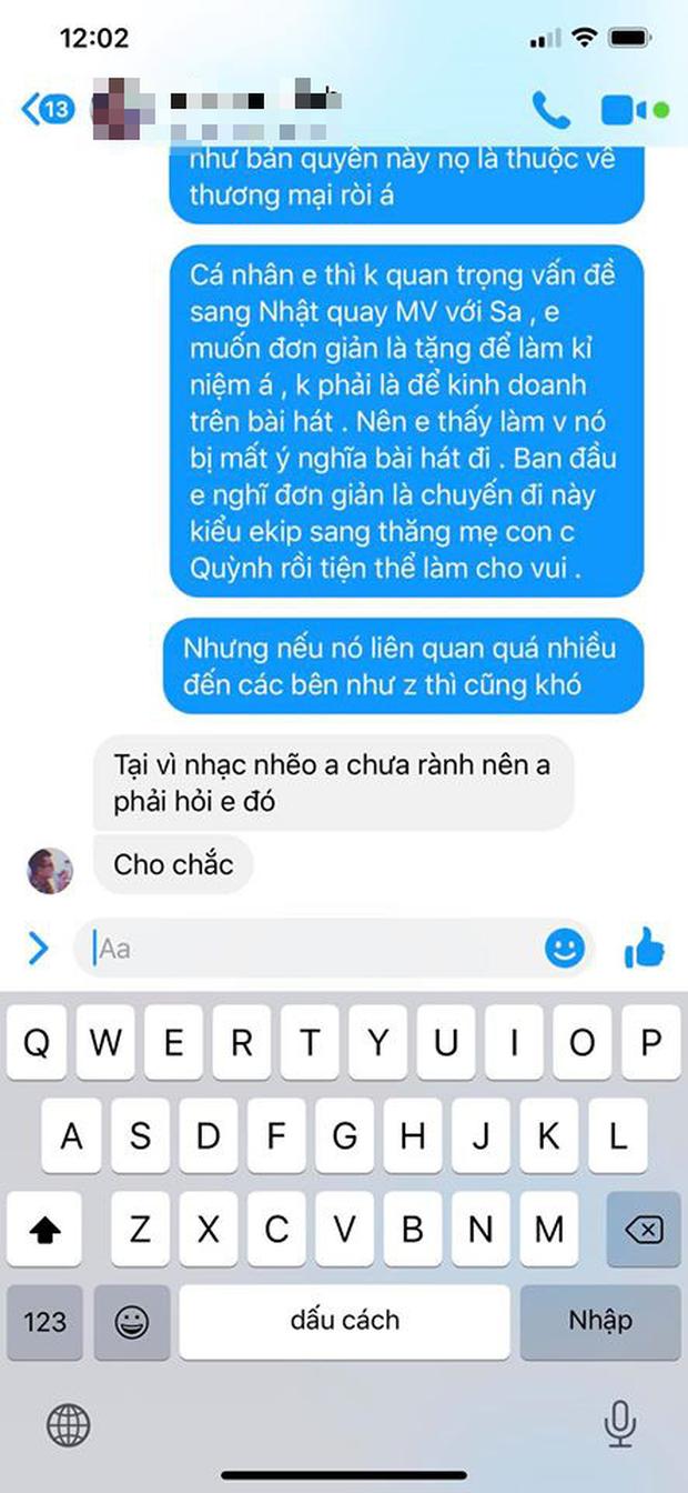 LyLy đáp trả ekip Quỳnh Trần JP việc bị tố vô trách nhiệm, cho rằng MV Chẳng thể rời Sa đã bị thương mại hoá và nghi ngờ có người tác động - Ảnh 5.