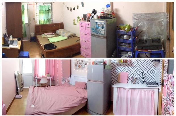 Cô gái chi 6 triệu để decor phòng màu hồng siêu xinh: Ở trọ nhưng quyết không ở nơi xấu xí, tạm bợ - Ảnh 1.