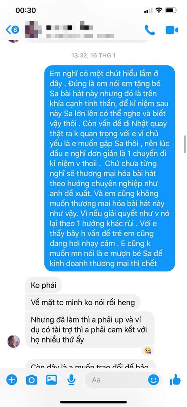 LyLy đáp trả ekip Quỳnh Trần JP việc bị tố vô trách nhiệm, cho rằng MV Chẳng thể rời Sa đã bị thương mại hoá và nghi ngờ có người tác động - Ảnh 6.