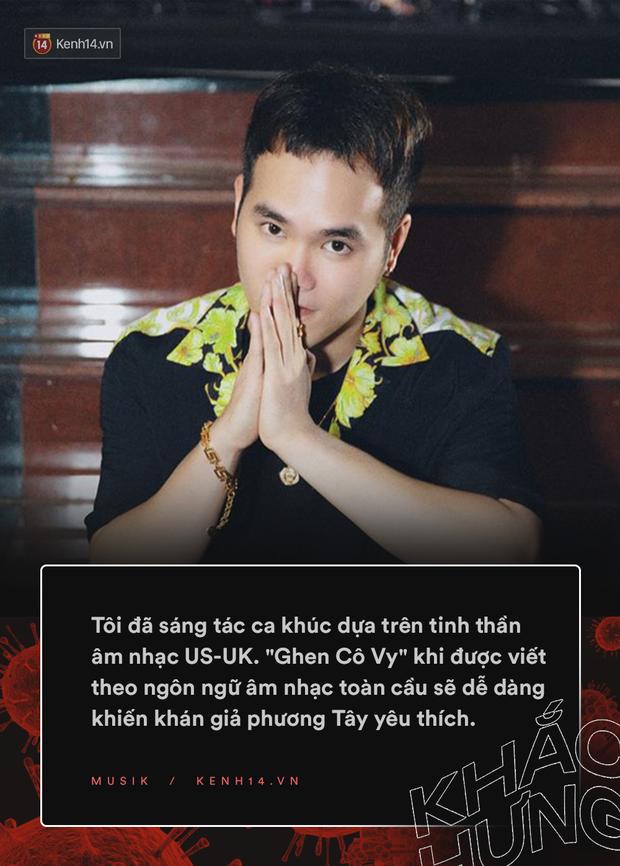 Nhạc sĩ Khắc Hưng chia sẻ về thành công vượt biên giới của Ghen Cô Vy: Không nghĩ Ghen Cô Vy là ca khúc hit, tiết lộ sự chuyên nghiệp của Min - Erik - Ảnh 4.