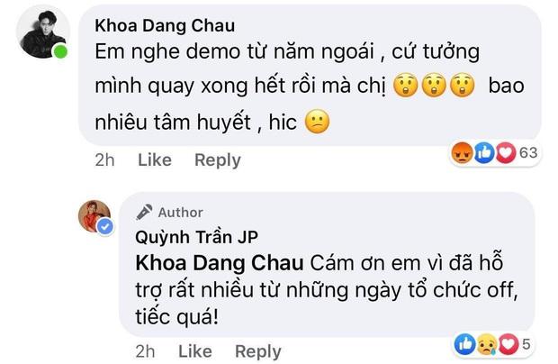 Châu Đăng Khoa lên tiếng khẳng định mình không liên quan lùm xùm Ly Ly và Chẳng thể rời Sa, đích thân Quỳnh Trần JP vào cảm ơn ủng hộ - Ảnh 1.