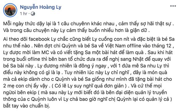 LyLy đáp trả ekip Quỳnh Trần JP việc bị tố vô trách nhiệm, cho rằng MV Chẳng thể rời Sa đã bị thương mại hoá và nghi ngờ có người tác động - Ảnh 1.