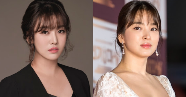 Bỗng lột xác giống đại mỹ nhân Song Hye Kyo đến bất ngờ hậu giảm cân, nữ ca sĩ Hàn lại bị netizen khủng bố - Ảnh 2.