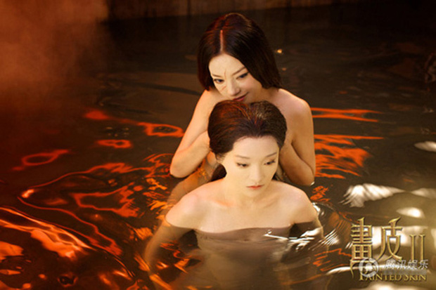 6 cảnh tắm cực hot của loạt mỹ nhân Hoa Ngữ: Địch Lệ Nhiệt Ba ngại ngùng tắm cùng đế quân, Triệu Vy cân mọi thể loại - Ảnh 14.