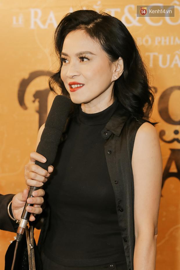 Hotgirl thả thính giật spotlight giữa tông dresscode trắng đen của dàn sao phim cung đấu Phượng Khấu - Ảnh 5.