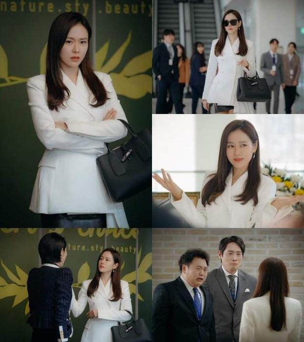 Crash Landing on You hết lâu rồi vẫn bị gọi hồn vì Oh Soo Ah (Tầng Lớp Itaewon) đụng hàng tài phiệt Yoon Se Ri - Ảnh 2.