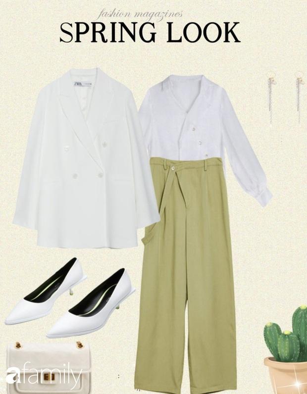 10 gợi ý mặc blazer vừa trẻ vừa xinh, giúp style công sở của bạn thăng hạng dần đều - Ảnh 4.