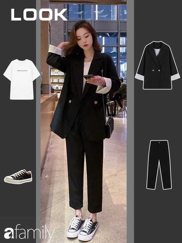 10 gợi ý mặc blazer vừa trẻ vừa xinh, giúp style công sở của bạn thăng hạng dần đều - Ảnh 7.