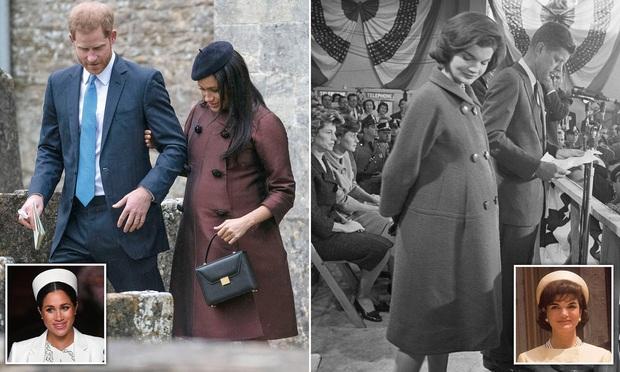 Công nương Kate hạ đo ván em dâu Meghan khi lần đầu tiên diện bộ đồ cũ đặc biệt, đẹp chẳng kém mẹ chồng Diana khi xưa - Ảnh 6.