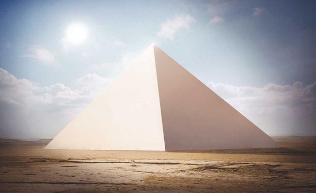 Hình ảnh được cho là diện mạo gốc của kim tự tháp Ai Cập khi vừa xây xong, hoá ra lại có màu trắng lấp lánh như kim cương? - Ảnh 6.